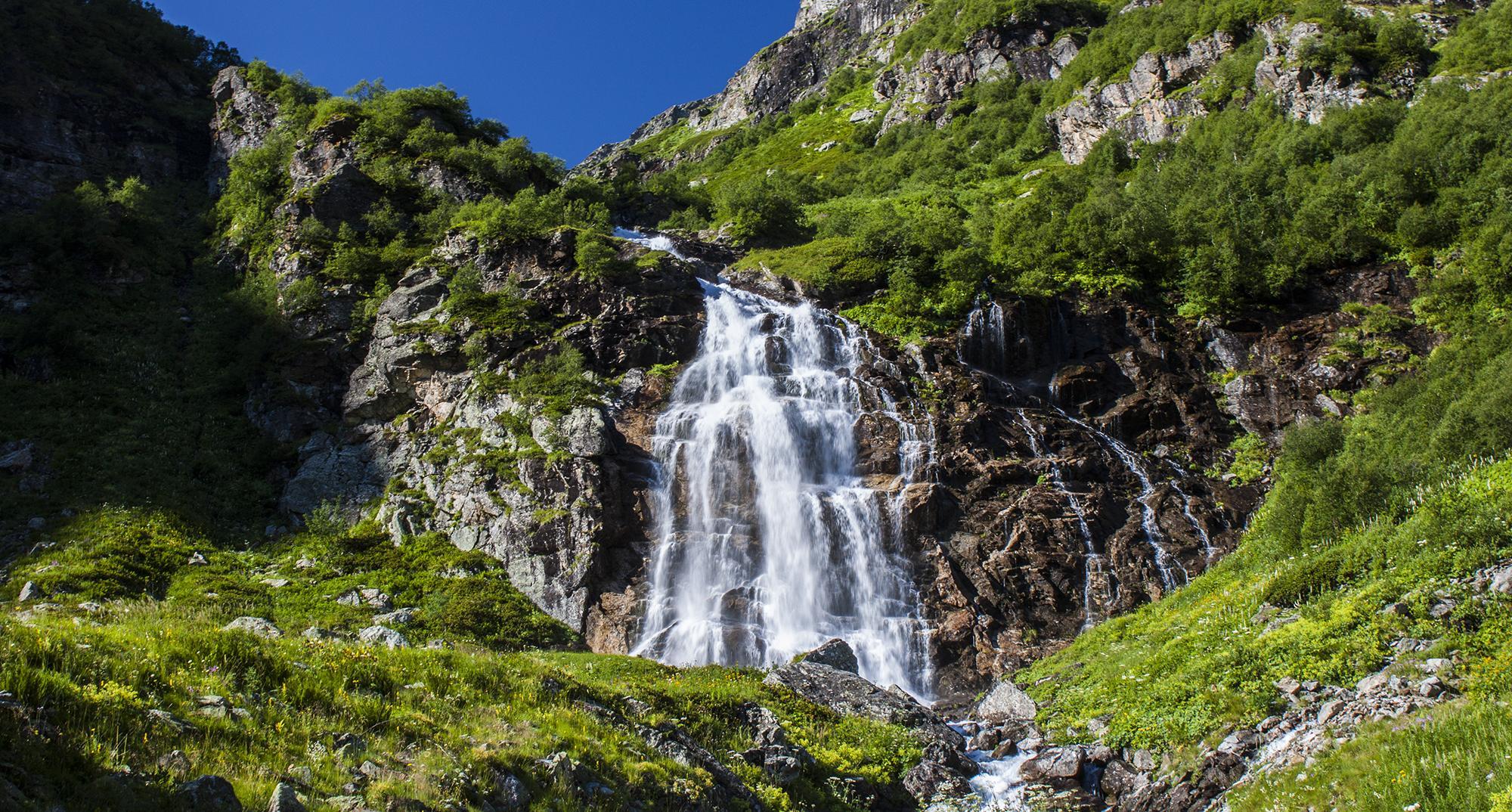 Большой Имеретинский водопад