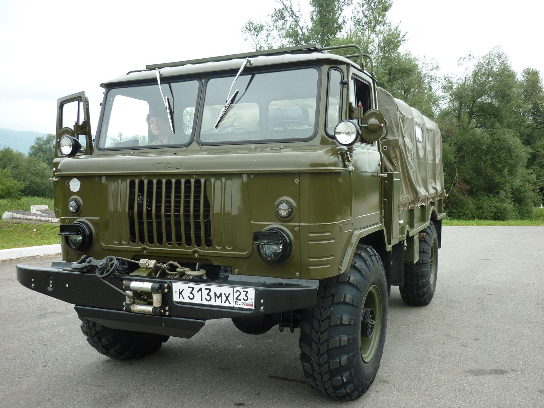 ГАЗ 66 заброска Тхач