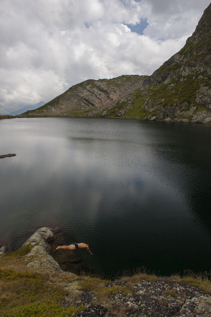 Озеро Загедан нырок