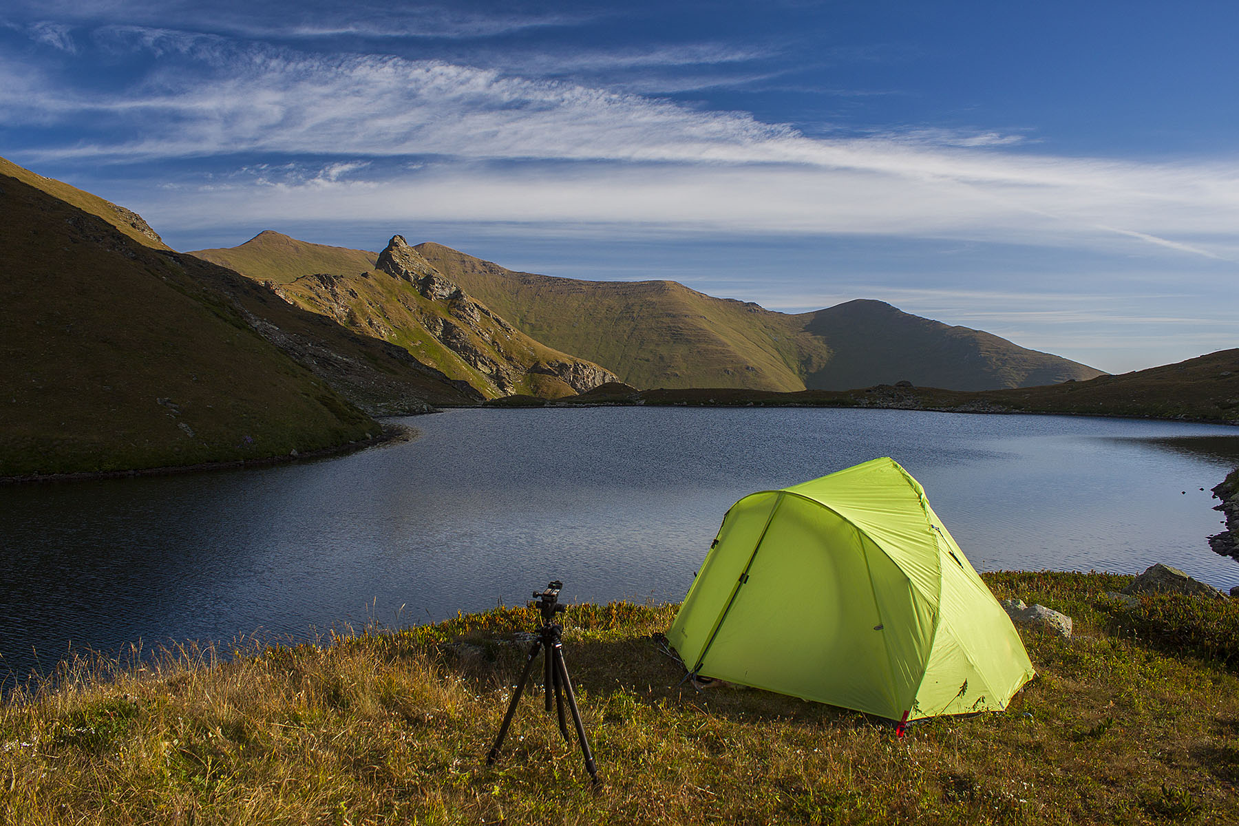 Рассвет на Загеданском Озере