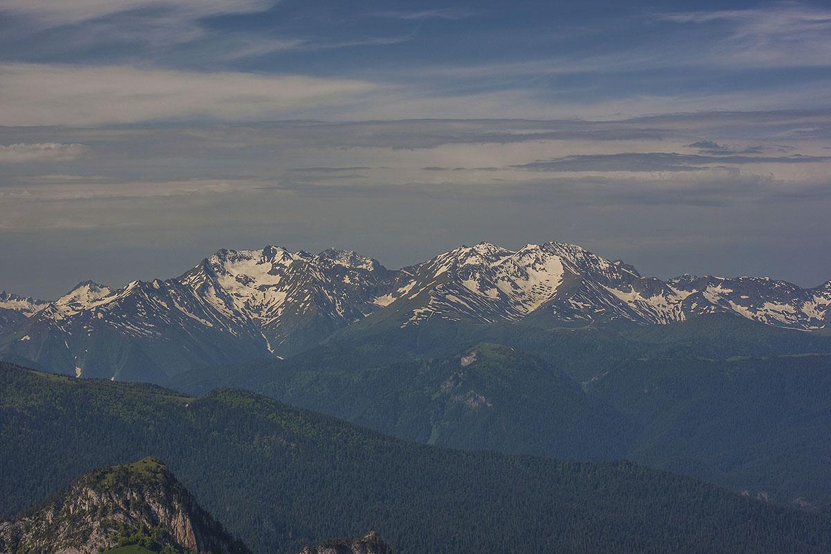 горы Джемарук и Тыбга