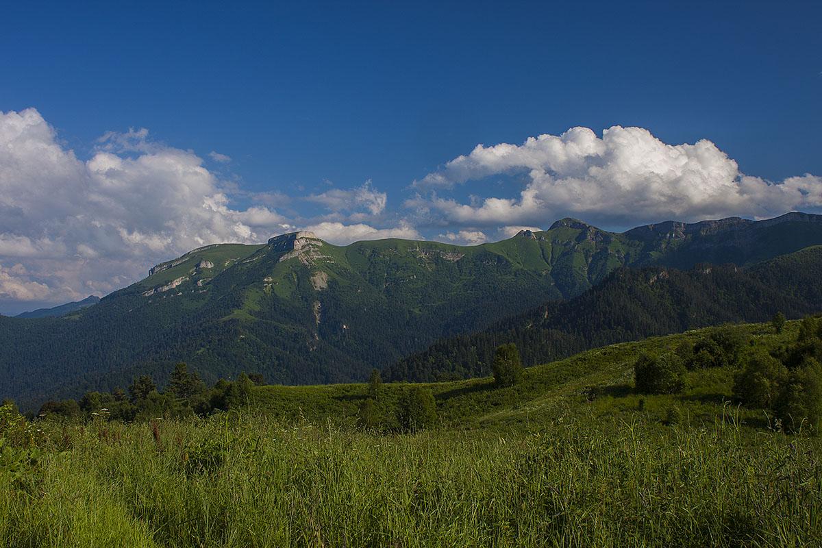 Гора Сундуки с хребта Бабук