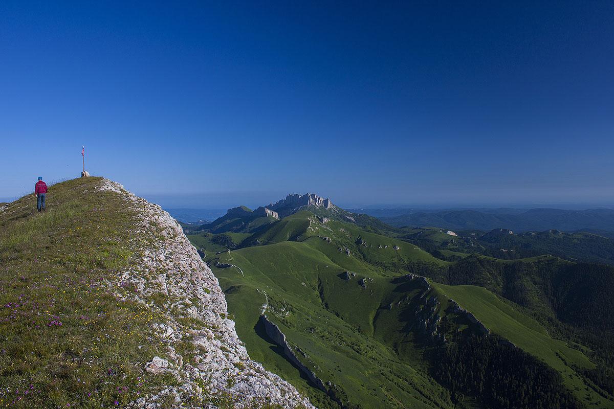 гора Восточный Ачешбок вершина