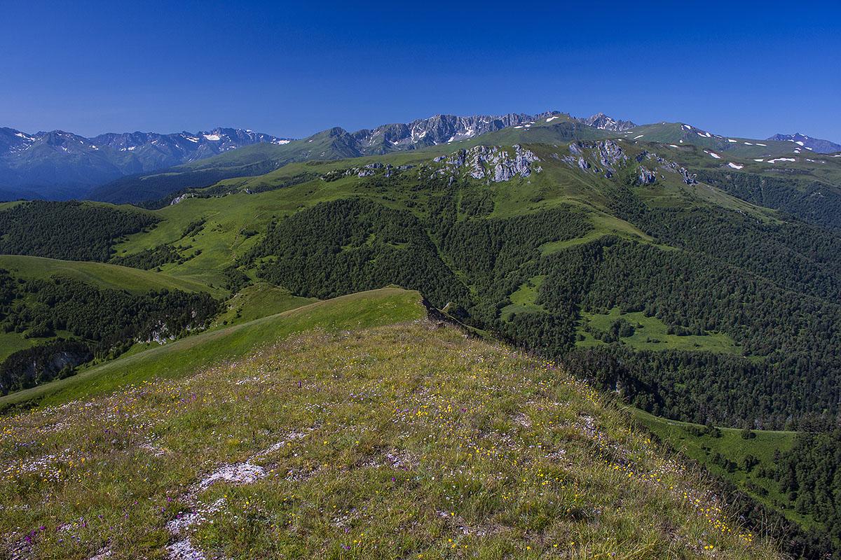 Ргебень горы восточный Ачешбок