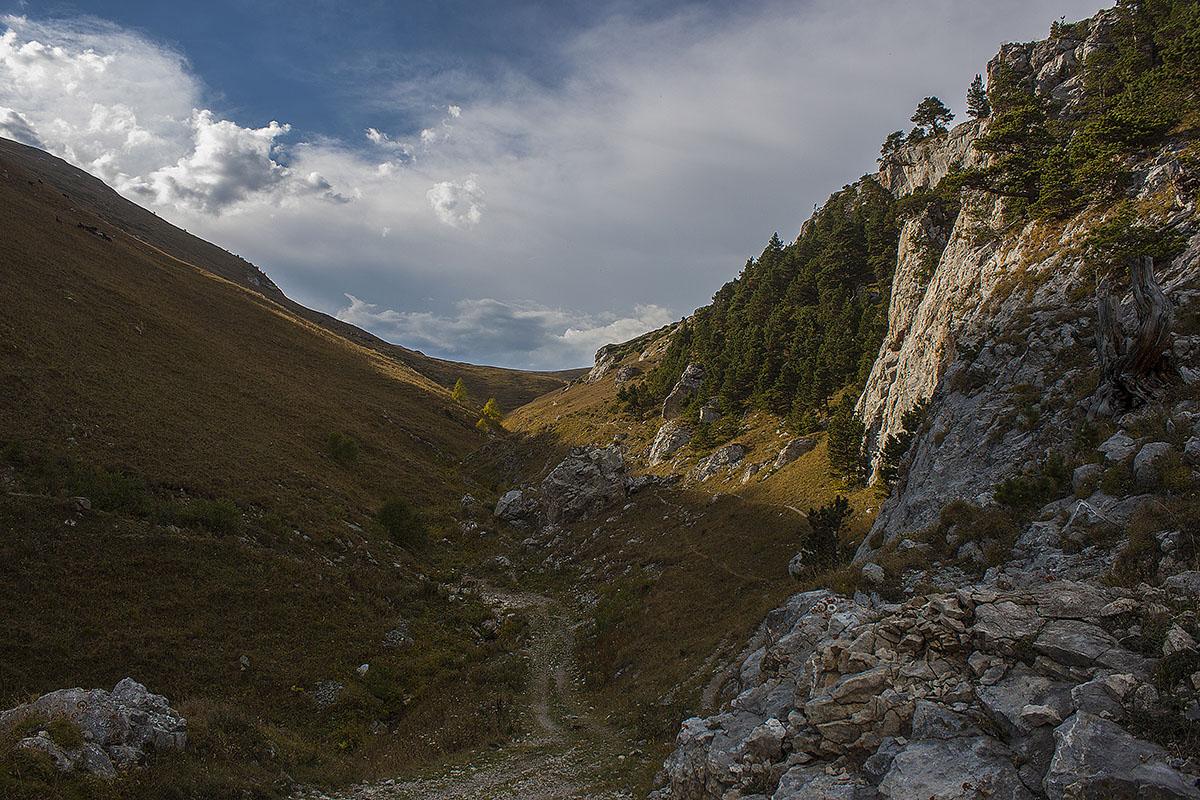 тропа на гору Дженту