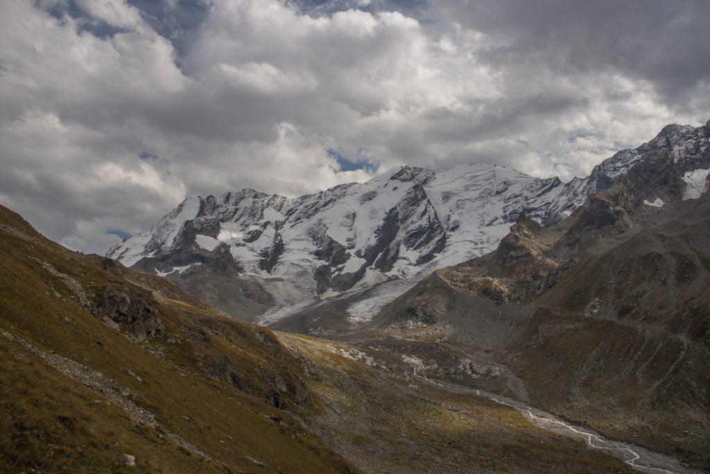 Ледник Гвандры.