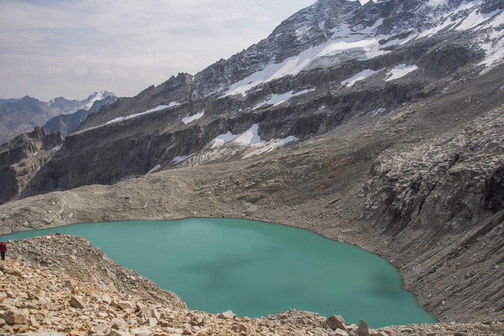 Озеро под перевалом Доломит Северный